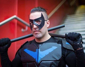 Nightwing Leather Mask