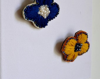Embroidered Brooch : Candy