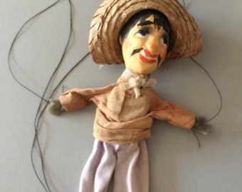 Puppet Antique French