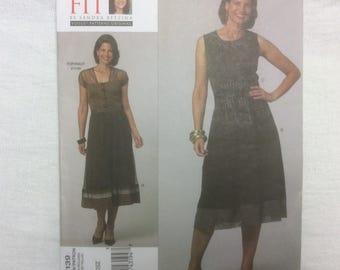 Vogue 1139 Today's Fit Sandra Betzina Flared Skirt & Obi Pattern One Size Uncut