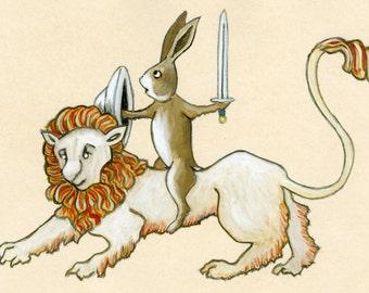 Lion Bunny Original