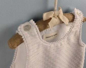 Swiss Dot Baby Dress-Swiss Dot Baby Slip-Classic Baby Slip-Classic Baby Dress-Handmade Baby Slip-Baby Shower Gift-Baby Gift-1st Bday pics