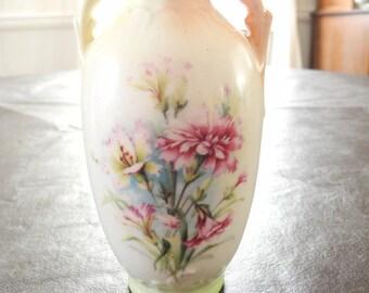 50% SALE -- Vintage Austrian Small Porcelain Vase