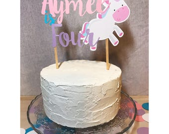 Unicorn cake topper, unicorn banner, unicorn topper, unicorn invitation, unicorn cake, unicorn, unicorn backdrop, unicorn party decor, cake