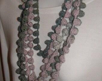 Wool necklace bells