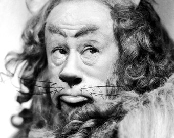 Bert Lahr as the cowardly lion from the Wizard of Oz, 1939