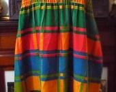 Vintage Colorful Sleevele...