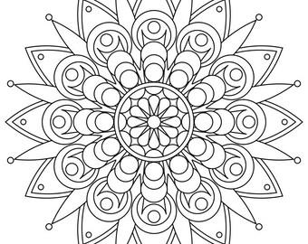 Mandala 33 Coloring Page