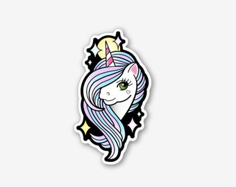 Sassy Unicorn - Sticker