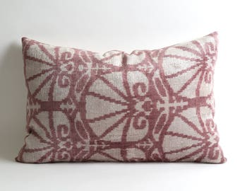 ikat velvet pillow, ikat pillow cover, velvet cushion, velvet ikat pillow, silk, handmade, pillows, cushion, velvet pillow cover