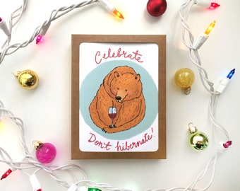 Hibernate Holiday Card Box Set