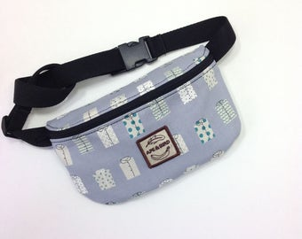 Handmade fanny pack, hip pack , belt bag , fanny sack, waist pack , hip pouch , belly bag, fannypack , hip bag , concert bag , festival wear
