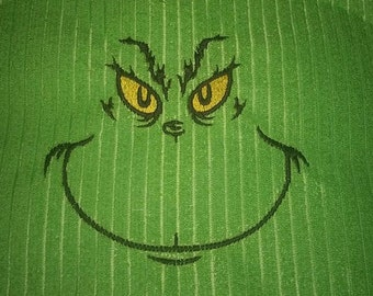 The Grinch Inspired Kitchen or Bath Hand Towel