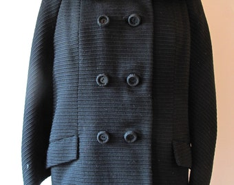 1960s Coat with Mink Trim