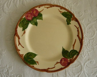 Franciscan Apple Dinner Plate - Stamp from 1940's