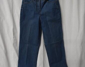 Vintage Jeans/ High Waisted/Vintage/ Denim/ Mom Jeans/Size 6 Petite