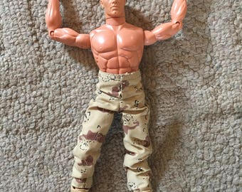 US Army Hasbro doll, Blond hair and blue eyes
