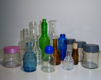 New Price - Set Old bottles sold in batches of various formats and colors