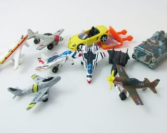 Micro Machines Airplane Vehicle Jet Lot Galoob 1990s Tiny Miniatures - 1.5 Inches