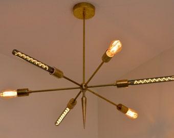 Starlight Series Chandelier, Brass Chandelier, Modern Lighting, Custom Lighting