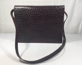Nordstrom, Brown Leather purse, Made in Italy, Shoulder Bag
