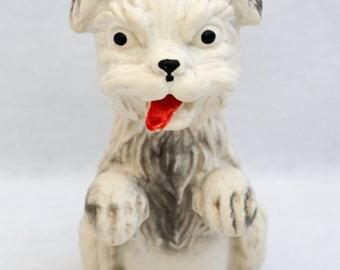 1960s Rubber Squeak Toy Dog