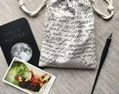 Tarot Card Bag  Tarot Card Pouch  Tarot Pouch  Tarot Deck Bag  Oracle Card Bag  Handmade Bag  Oracle Deck Bag  Tarot Card Holder