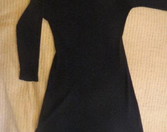 Black Knit Dress by Wolnad Imports Ltd.
