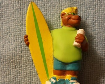 Tiny surfer dude would actually be a really terrible surfer, but that's okay because most people don't really care about surfing ability