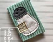 So Salty Shabby Chic Appliqué design - salt shaker appliqué design - vintage appliqué design - food appliqué design - bean stitch appliqué