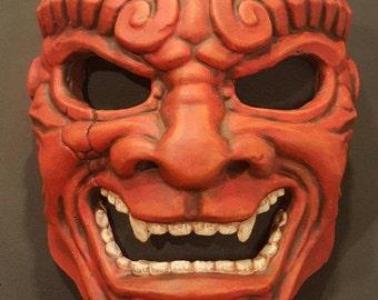 Samurai mempo mask. Basic edition.