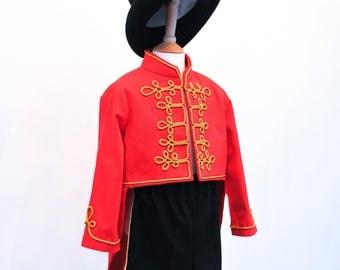 Ringmaster Top Hat | Black Top Hat | Kids Steampunk Hat | Ringmaster | Victorian Top Hat
