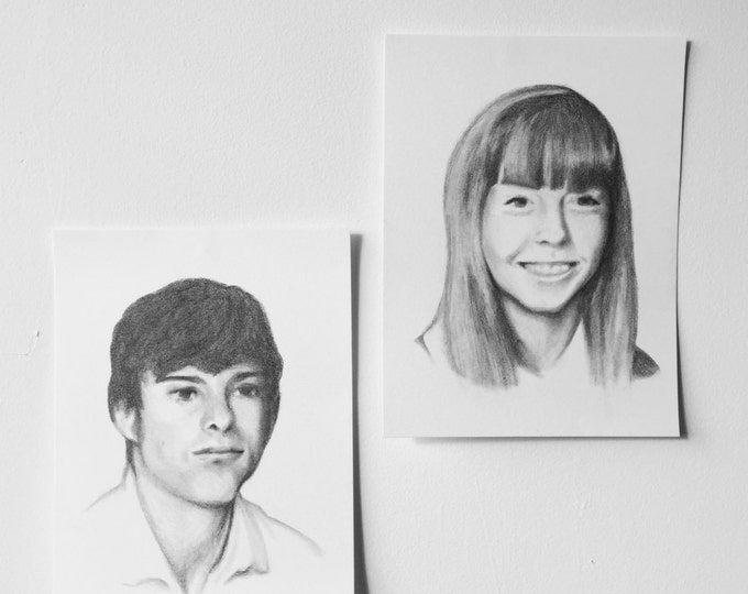 Custom Graphite Portraits