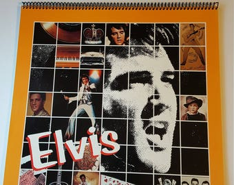Elvis Calendar 1986 Hallmark Cards Inc
