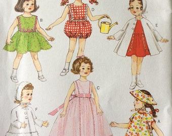 "Butterick B6001 UNCUT 18"" Doll Clothes"