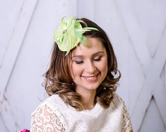 Headband Fascinator royal has bridal Hat bridal hair jewelry wedding wedding bridal has Z9
