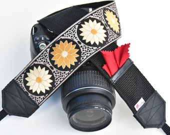 Lucky Ladybug Camera Straps for DSLR or any other photo camera