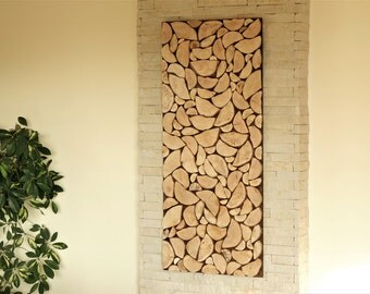 Round Wood Wall Art modern wall wood art round wooden wall wooden decor tree