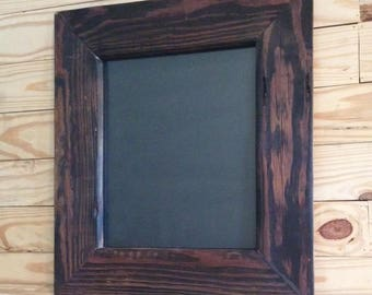 Custom Rustic Pallet Wood Picture Frames / Wooden Frames / Photo Frame / Made to Any Size Frame