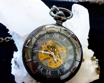 Sailor Pocket Watch - Gunmetal