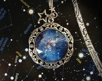 NightSkies Bookmark - Intersideral - Galactic - Stars - Galaxy - Astronomy - Astral - Celestial - Cosmos - SuperNova - Intersidereal - Books