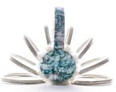 Moobury Earmuffs (Gloria) - liberty london floral leaf pattern
