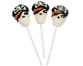 12/My Adventure Pirate Party lollipops /  Party favors /lollipops / pirate party favors / pirate party / pirate themed