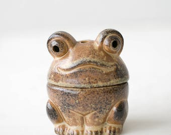 Ceramic Frog Incense Burner