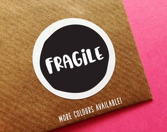 Fragile Care Labels, Fragile Stickers, Please Do Not Bend Label, Fragile Sticker, Happy Mail Sticker, Cute Fragile Sticker, Mailing Stickers