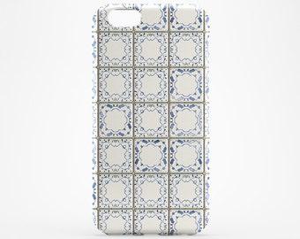 White Tile iPhone 6 Case Blue Tile iPhone 7 Case iPhone 6 Plus Marble iPhone 7 Plus Case iPhone 6 Plus iPhone SE Case iPhone 5 Case iPhone 4