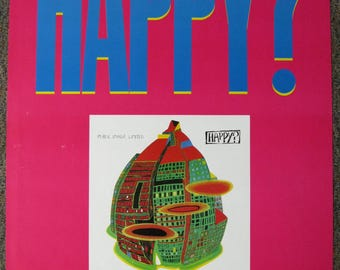 PIL Public Image Limited HAPPY PROMO Poster