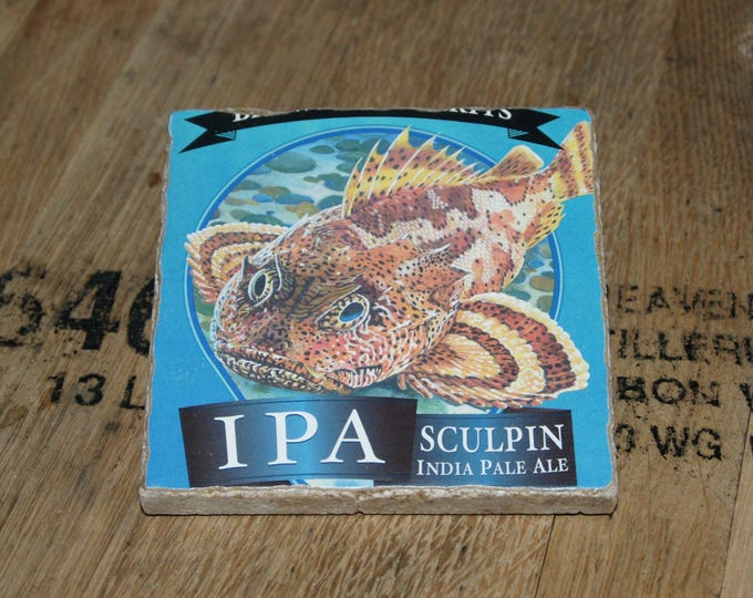 UPcycled Coaster - Ballast Point Brewing Co - Sculpin IPA (OG!!!)