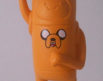 CUSTOM Christmas Ornament Made From Adventure Time Jake as FINN Cartoon Jazwares