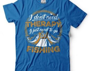 Fishing T-Shirt Funny Fisherman Gift Tee Shirt
